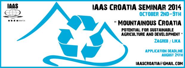 IAAS croatia seminar 2014